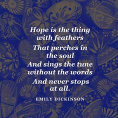 HOPE Emily Dickinson