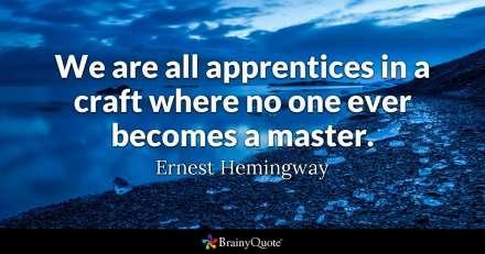 Hemingway apprentices