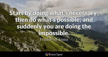 HI start by doing