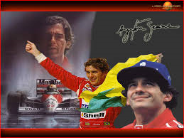 Ayrton best on the podium