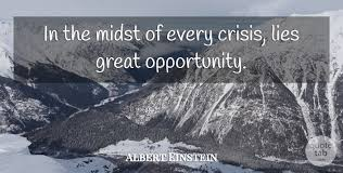 crisis einstein