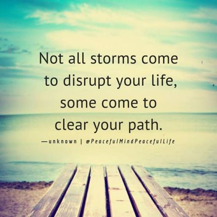 storms Disrupt